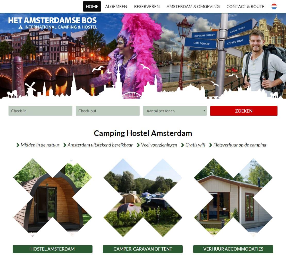 Camping Het Amsterdamse Bos