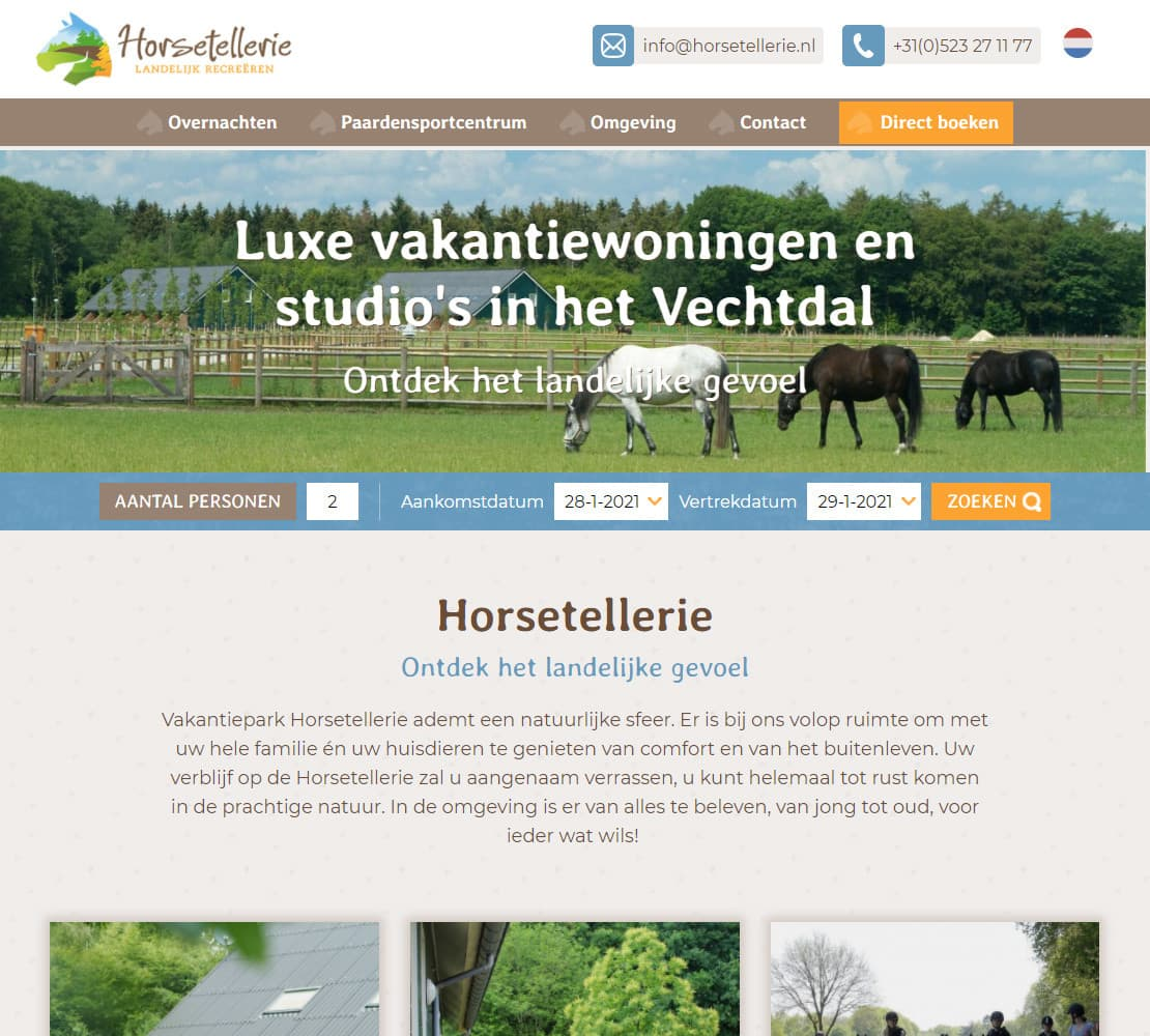 Vakantiepark Horsetellerie