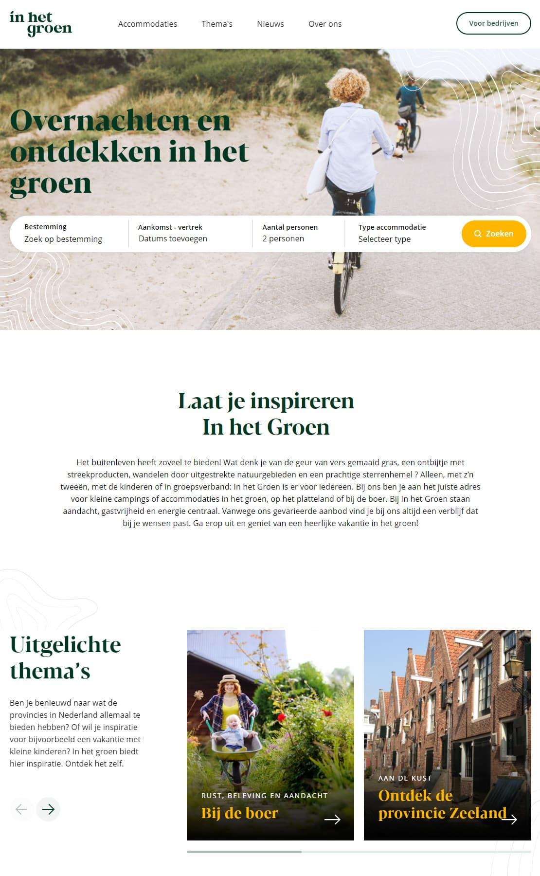 In het Groen