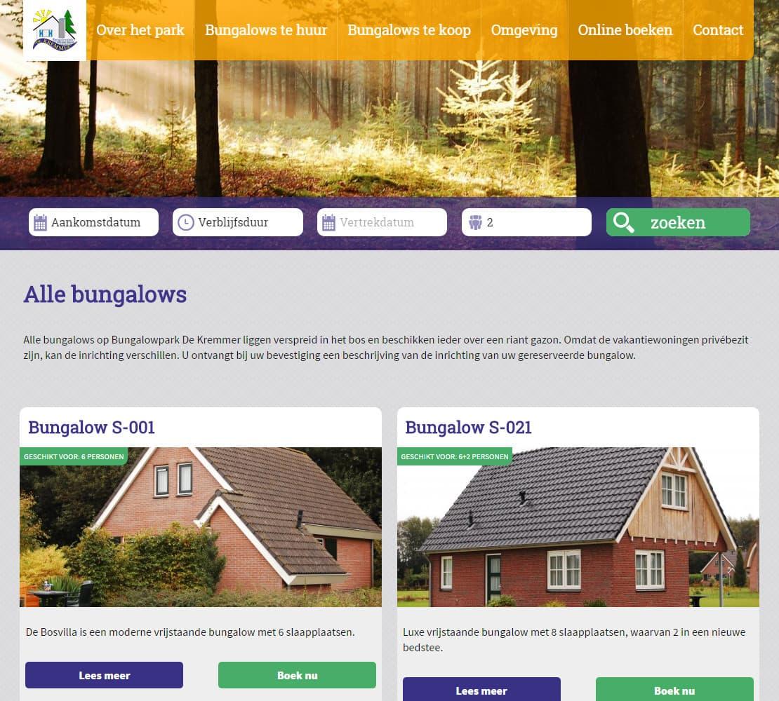 Bungalowpark De Kremmer