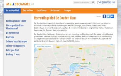 Maasbommel / Recreatiegebied De Gouden Ham