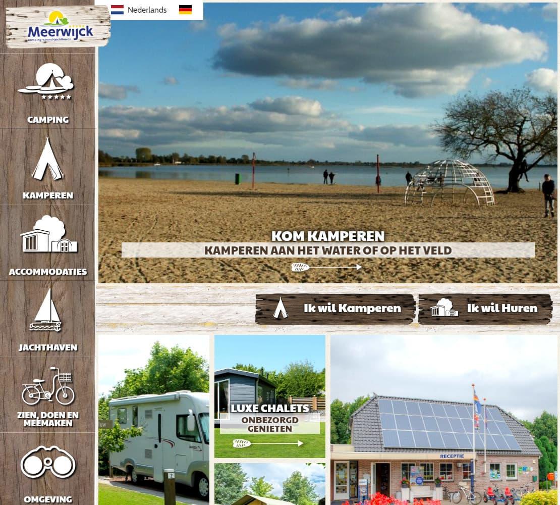Camping en Jachthaven Meerwijck