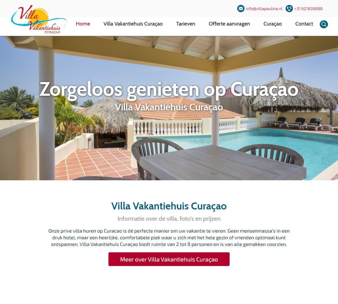 Villa Vakantiehuis Curaçao