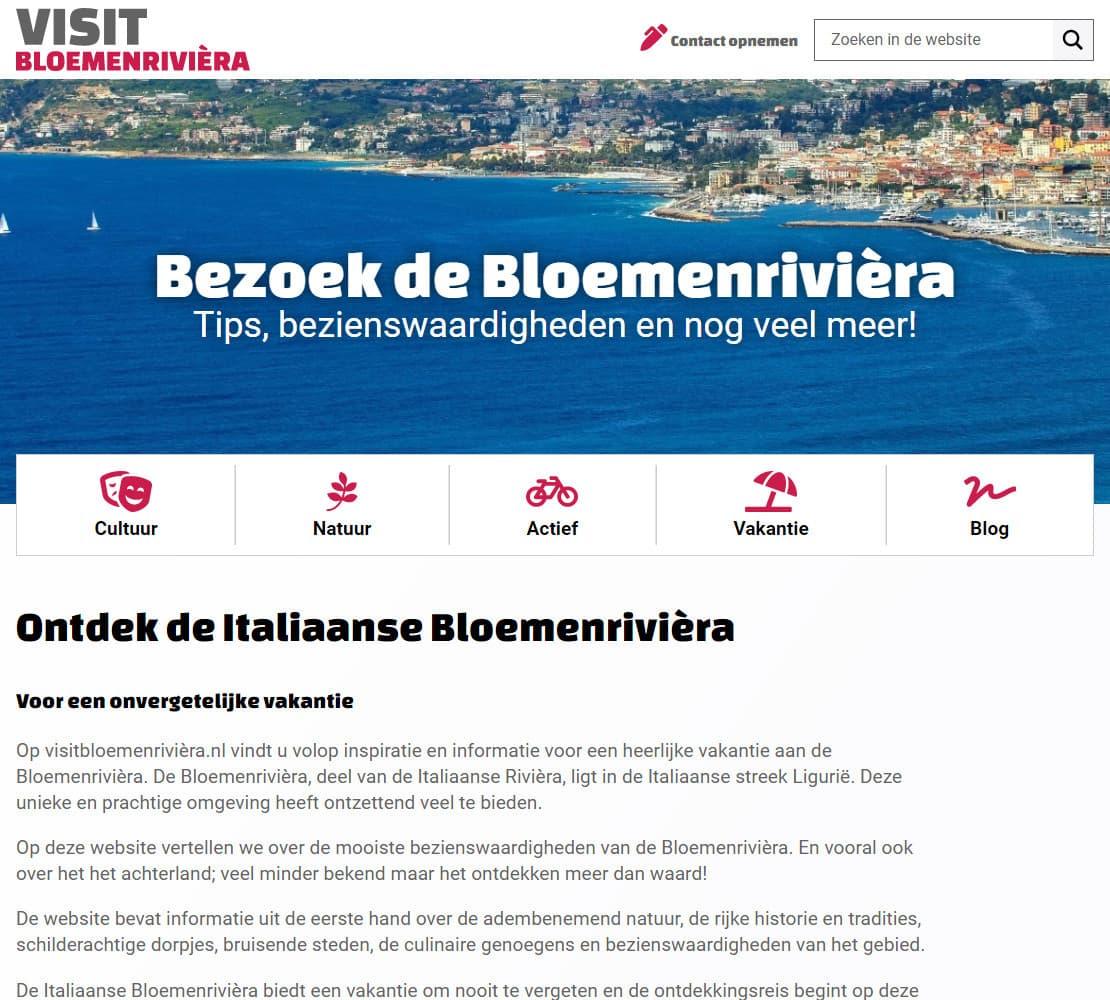 Visit Bloemenrivièra