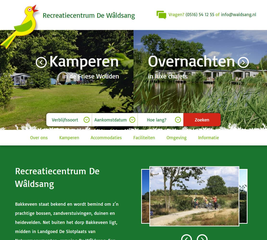 Camping De Wâldsang
