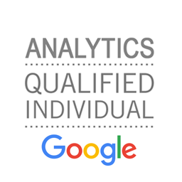 Wim is door Google gecertificeerd als Google Analytics Qualified Individual